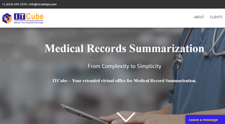 ITCube Medico Legal Summarization Services