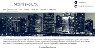 Montesino Law