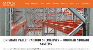 Modular Storage Pallet Racking Brisbane