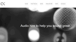 Get Audio hire Melbourne