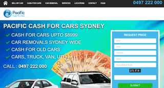 Pacific Cash For Cars Sydney