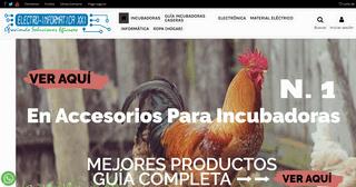 Electro Informática XXI – Todo en Accesorios para Incubadoras Caseras, Nacedoras y Terrarios