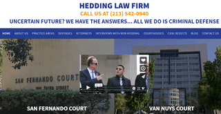 Van Nuys Criminal Defense Attorney