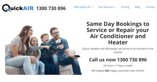 Quick Air - Air Conditioning and Heating Services