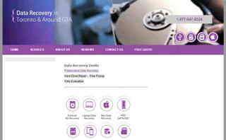Data Recovery Onsite, Brampton, Etobicoke, Hamilton