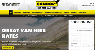 Car Hire Edinburgh | Condor Self Drive
