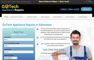 Household Appliance Repair in Edmonton