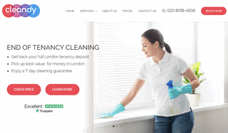Professional Cleaning Services in London by Cleandy
