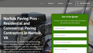 Norfolk Paving Pros