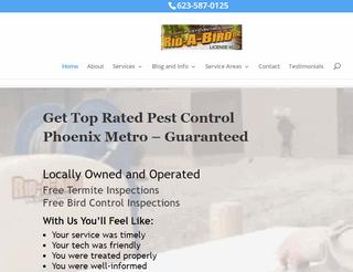 Top Rated Pest Control Phoenix Metro Area | Bird Control Arizona