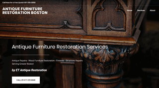 Antique Furniture Restoration Boston MA