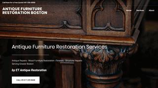 Antique Furniture Restoration Boston MA