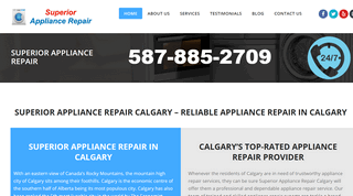 Superior Appliance Repair Calgary