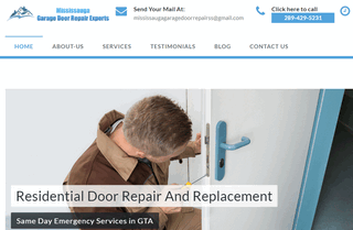 Mississauga Garage Door Repair Experts