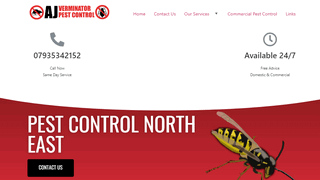 Pest Control North East, UK Pest Removal Specialists