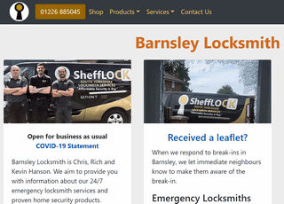 Barnsley Locksmith