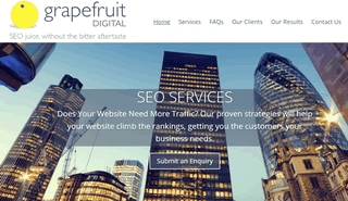 Grapefruit SEO Services Agency - Juicy Search Engine Optimisation