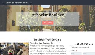 Arborist Boulder