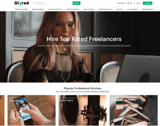 Gigred - The Best Freelance Jobs Online Platform