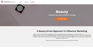 Intellifluence Beauty influencer marketing