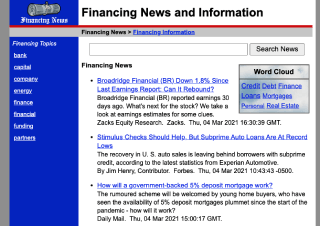 Finance Industry News