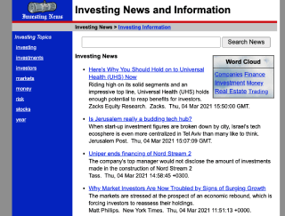 Investing and Investment News