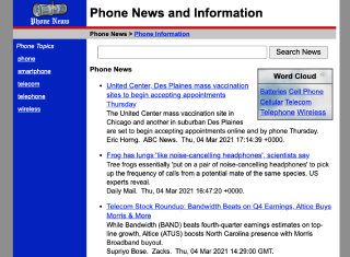 Telecommunications News