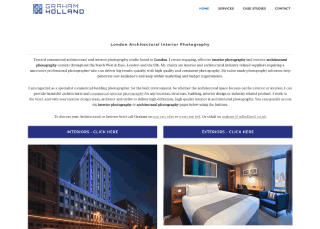 London Interior Architecture Photographer